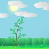 Sommer im Wald. Lizenzfreies Stockfoto