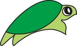 Vektorillustration einer Schildkröte lizenzfreies stockfoto