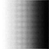 Vektorillustration eines Halbtonmusters lizenzfreie abbildung