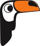 Vektorillustration eines Tukans lizenzfreie stockfotografie