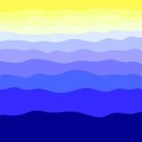 Vektorillustration, en abstrakt bakgrund, i enguling färg Royaltyfri Illustrationer