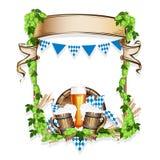 Vektorillustration för en ölfestival Royaltyfria Foton