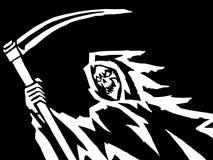 Vektorillustration för svart död Royaltyfri Foto