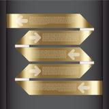 Vektorillustration, Infographic baner för designarbete Royaltyfri Bild