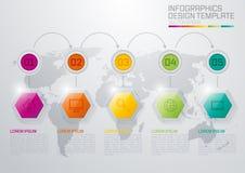 Vektorillustration, infographics Stockbild