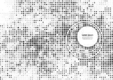 Vektorillustration med den rastrerade modellen Svartvit abstrakt vektorbakgrund stock illustrationer