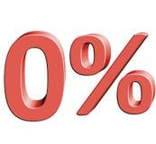 0% Vektorillustration mit Effekt 3D vektor abbildung