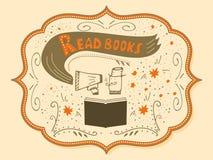 Vektorillustration mit von Hand gezeichneter Beschriftung Lizenzfreies Stockfoto