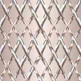 Vektorillustration von diagonalen Rechtecken stock abbildung