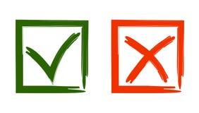 Vektorillustration von Zeichen zu wählen Lizenzfreies Stockfoto