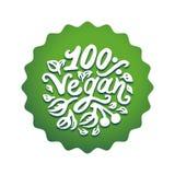 Vektorillustrationbegrepp av strikt vegetarianordgräsplan som märker symbolen stock illustrationer