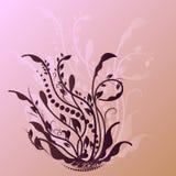 Vektorillustrationblomma Arkivfoto
