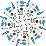 Vektorillustrationdesign för torkdukar eller papper Royaltyfria Bilder