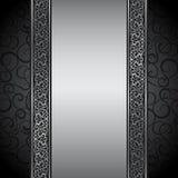 Vektorillustrationen av dekorativt gränsar. stock illustrationer
