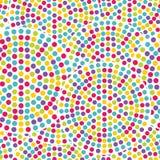 Seamless pricka mönstrar Arkivfoton