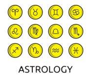 Zodiac knäppas samlingen Royaltyfri Fotografi