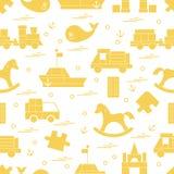 Vektorillustrationen lurar leksakobjekt: drev pussel, formgivare, stock illustrationer