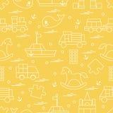 Vektorillustrationen lurar leksakobjekt: drev pussel, formgivare, vektor illustrationer