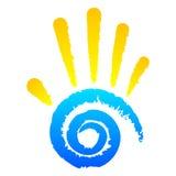 Semestra symbolen Royaltyfria Bilder