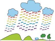 Dubblett som är menande av regnbågen Royaltyfri Fotografi