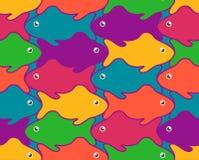 Vektorillustrationer av fiskar royaltyfri illustrationer