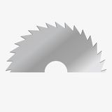 Vektorillustrations-Rundschreibensäge Lizenzfreie Stockbilder