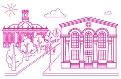 Vektorillustrationszeichnung Stockfoto
