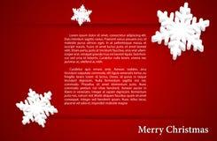 Vektorillustrationszusammenfassung Weihnachtshintergrund Lizenzfreie Stockfotografie