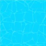 Vektorillustrationtextur av vatten Vattenyttersidablåtten Royaltyfri Foto