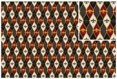 Vektorköniglicher Lilienhintergrund Stockfotos