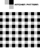 Vektorküche-nahtloses Muster Stockfoto