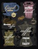 Vektorkaffe stock illustrationer