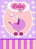 Vektorkarte für Baby Lizenzfreies Stockfoto