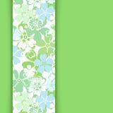 Vektorkarte mit Blumenmuster. Stockbilder