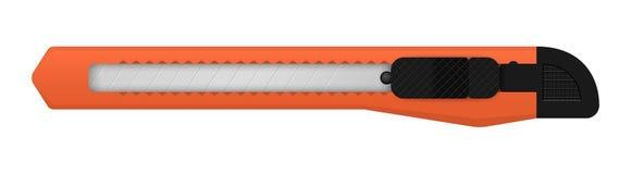 Vektorknäpp av kniven stock illustrationer