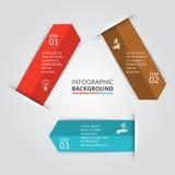 Vektorkreiselement für infographic Stockfoto