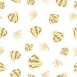 Vektorkristalluppsättning royaltyfri illustrationer