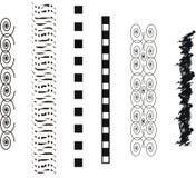 Vektorkunst-Tätowierungs-Bänder Lizenzfreies Stockbild