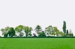 Vektorlandschaft lizenzfreie stockbilder
