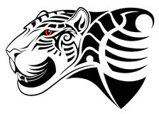 Vektorleopard Royaltyfria Bilder