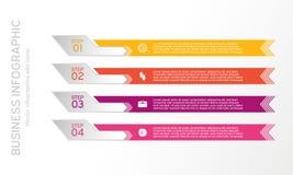 Vektorlinje som är infographic med symboler Affären diagrams, presentationer och diagram Bakgrund Royaltyfria Bilder