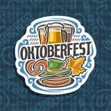 Vektorlogo för Oktoberfest Royaltyfri Foto