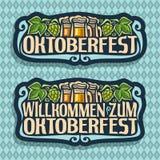 Vektorlogo för Oktoberfest Royaltyfria Foton