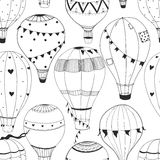 Vektorluftballonmuster Stockfotos