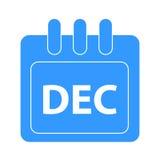 Vektormånad på kalender Royaltyfri Bild