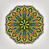 Vektormandala Ethnische dekorative Elemente Hand gezeichnetes backgroun vektor abbildung