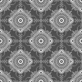 Vektormandalaillustration för tyger, anteckningsböcker, kort vektor illustrationer
