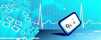 Vektormedizinischer Hintergrund Lizenzfreies Stockfoto