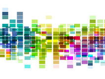 Vektormehrfarbenmosaikplan, ENV 10 Lizenzfreies Stockfoto