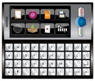 Vektormobile-Mobiltelefon Lizenzfreies Stockbild